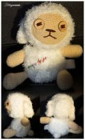 Amigurumi Commission Cotton by Lithiumcarbonat