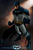 The Dark knight by commanderlewis