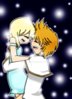 Winter Dance: Roxas and Namine by chihano14