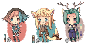Winter-theme Boy Adopt Set (Closed) by nilmea