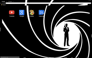 James Bond Theme by bandchromethemes