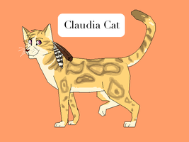 claudia cat by Weird-Honey