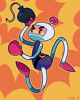 Bomberman by ZoeStanleyArts