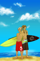 American_surf by NoirDamiselle