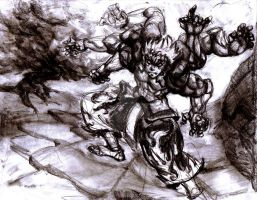 asuras wrath 2 by johnnydaman