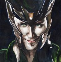 Loki by coffeenymph