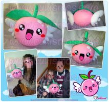 My Flying Cherry BIG Plushie by Cukismo