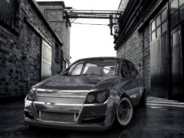 3d opel astra realistic try by hugosilva