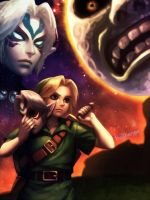 Majora's Mask 3D by bellhenge