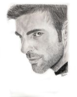 Zachary Quinto as Sylar by LegallyDrunk