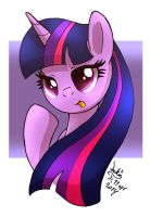 MLP FIM - Quick Twilight Sparkle by Joakaha