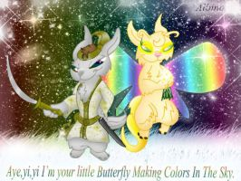 I'm Your Little Butterfly by QueenDanny