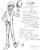 Rough Char Sheet: Ringo Starr by Smitkins