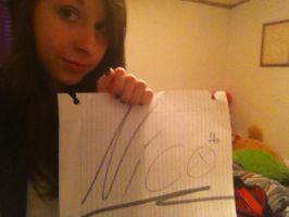 fansign by Neeeksy