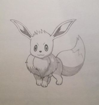 Eevee by PlushWraith