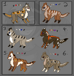 Free Bred Adopts (4/6) OPEN by LoreMasterStudio