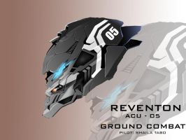 Mecha Head Concept: Reventon by bcetin