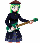 Bass Player by CrystalClair