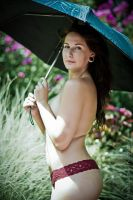 Garden Implied Nude by BrianMPhotography