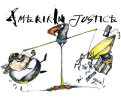 Amerikin Justice by me and gonzoville by sketchoo