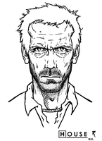 House Hugh Laurie by Tikay77