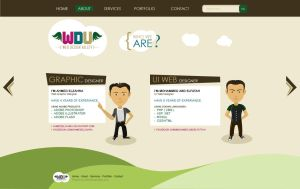 Web Design Valley cartoon P2 by ahmedelzahra