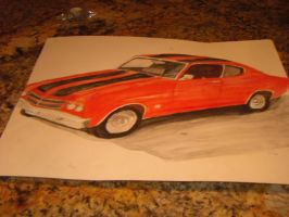 second picture of the 1977 chevy chevelle ss by Stormdeathstar9