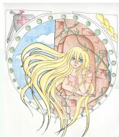 -Grimms- Rapunzel by Kai-is-mine