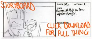 R+R2 March of the Penguins Storyboard - Part One by timsplosion