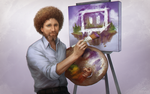 Kappa - Bob Ross Portrait by sohlol