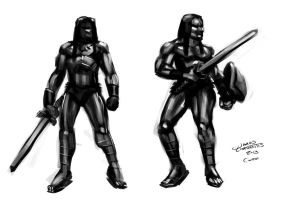 Conan The Barbarian (Daily Sketch Challenge) by jameslink