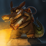 DAY 159. Dingodile (35 Minutes) by Cryptid-Creations