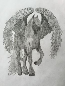 Winged Moonspell by Silver-Pegasus