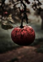 Halloween Apple by Flu87