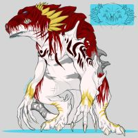 Species Ref: Blooded Dragons (NEW OWNER) by Kumotogi