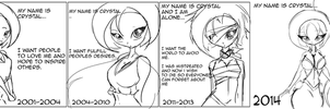 lyfe Wyse - Before inspiration - After realization by hachimitsu-ink