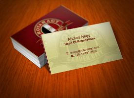Rotaract GC Business Card by XtrDesign