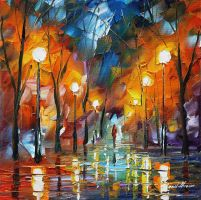 Emotional explosion by Leonid Afremov by Leonidafremov