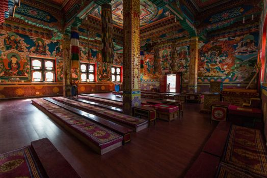 Rangjung Monastery I by paschlewwer
