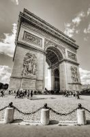 Arc de Triomphe II - Paris by ThomasHabets