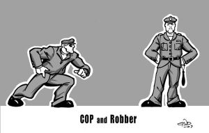 """Cop and Robber"" by SaviorsSon"