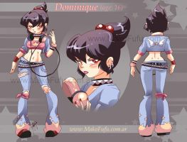 Dominique Chara Design by Mako-Fufu