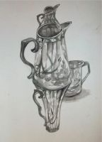 3 Jugs 1 Cup by hannahbull
