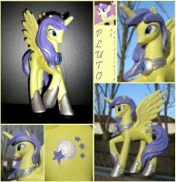 Custom Pluto Alicorn by FallSilently