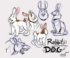 Design Auction: Rabbit-Dog by FablePaint