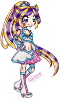 Cure Stardust Caramella Fusion by sekaiichihappy