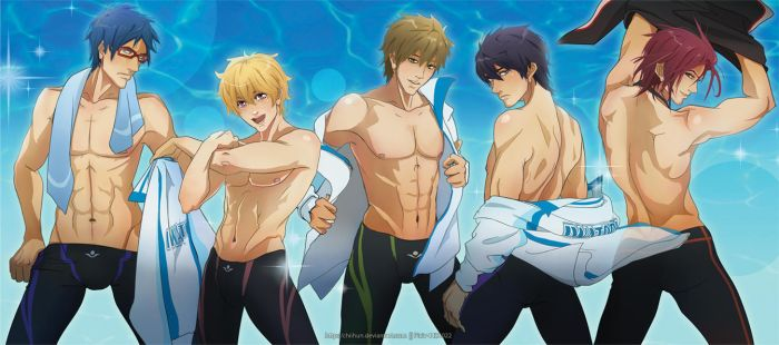 Iwatobi Striptease by chiihun