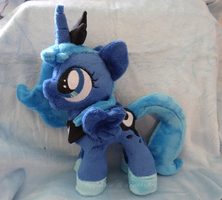 Filly Princess Luna Plushie :SOLD: by AppleDew