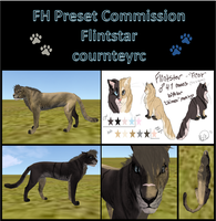 Flintstar :Preset Commission: by courtneyrc
