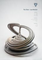 Strange Attractors - The Chen - Lee Attractor by ChaoticAtmospheres